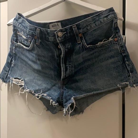 Agolde Parker Swap Meet Denim Shorts size 29